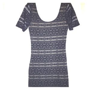 Abercrombie & Fitch Small navy overlay dress